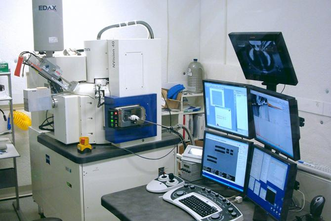 Microscopy instruments and workstation