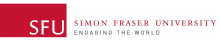 SFU - Simon Fraser University: ENGAGING THE WORLD